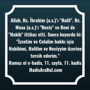 Allah, Hz. İbrahim (a.s.)'ı